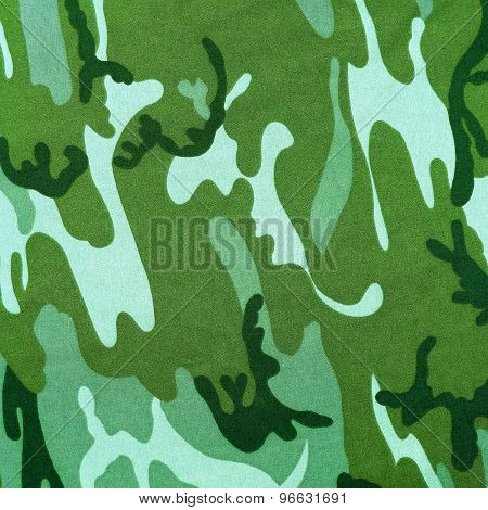 Exotic Color Camouflage As Background
