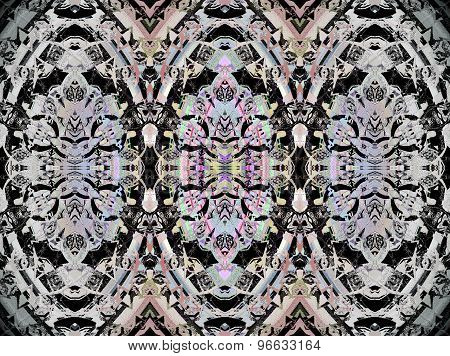 Seamless pattern black gray
