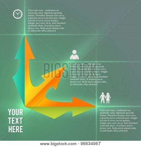 Infographics Business Presentation Template Management Services