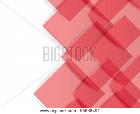 Paper square background