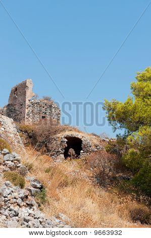 Ruin Uptown Monemvasia