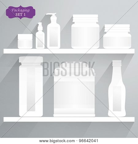 Packaging Flat Design