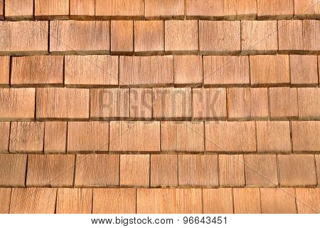 Brown shingles