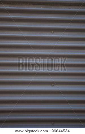 Patterned Metal Background.
