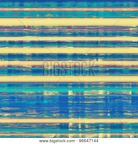 Grunge aging texture, art background. With different color patterns: yellow (beige); blue; purple (violet); cyan