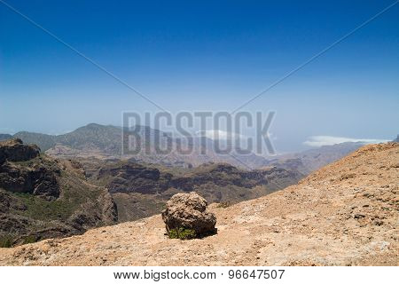 Inland Central Gran Canaria, Plateau Of Roque Nublo