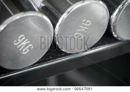 Rusty Dumbbells In Fitness