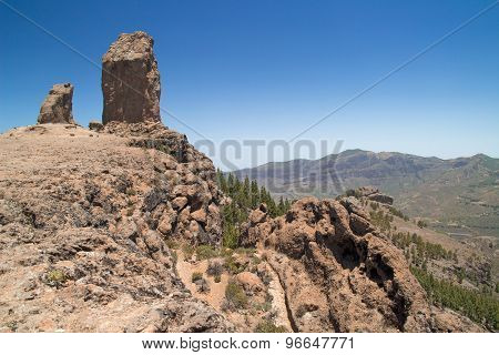 Inland Central Gran Canaria,  Roque Nublo
