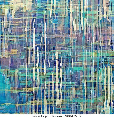 Art grunge vintage textured background. With different color patterns: brown; green; blue; purple (violet)