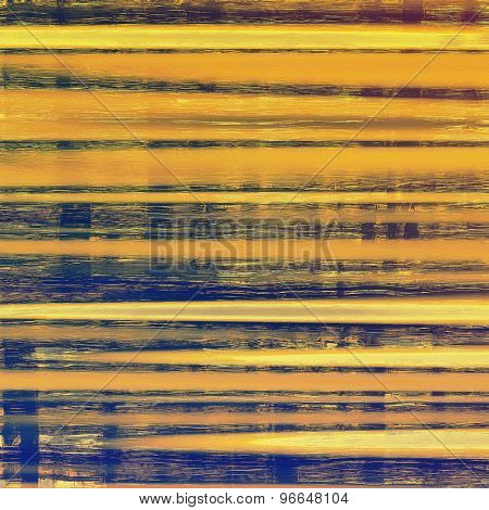 Vintage old texture for background. With different color patterns: yellow (beige); brown; gray; blue