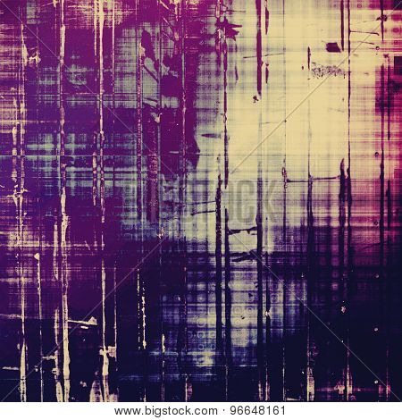 Grunge retro texture, elegant old-style background. With different color patterns: yellow (beige); pink; purple (violet); black