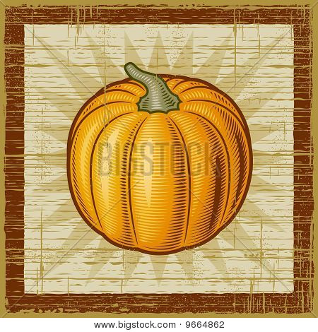 Retro pumpkin
