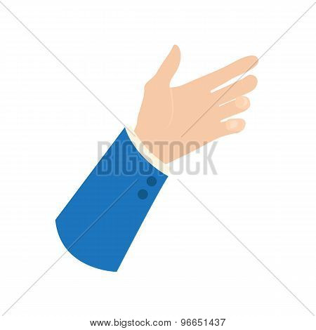 Businessman Hand Icon
