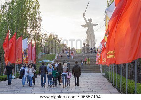 Mamayev Kurgan in Volgograd