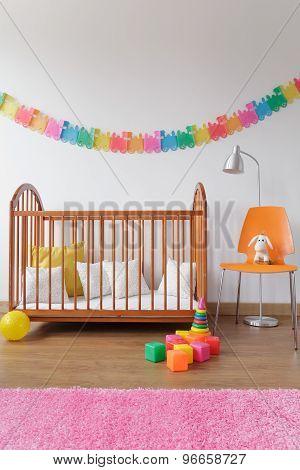 Modern Design Newborn Room Interior