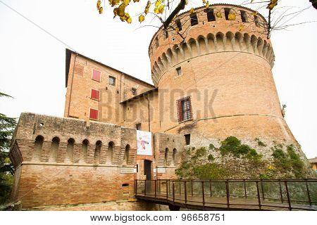 Sforza Castle. Dozza. Emilia-romagna. Italy.