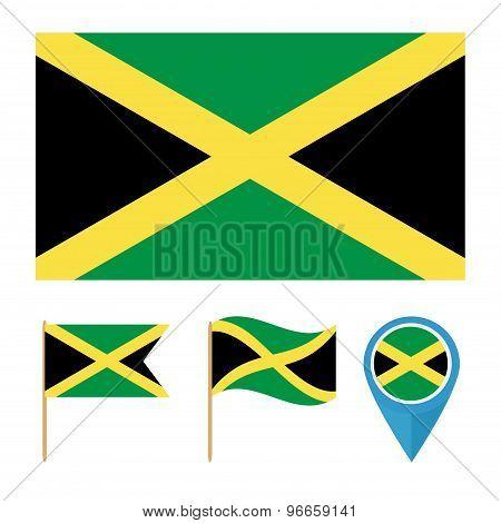 Jamaica,country Flag