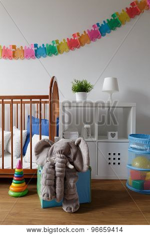 Light And Cosy Newborn Room