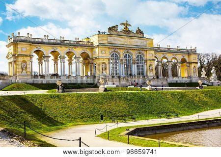 The Gloriette In The Schonbrunn Garden, Vienna, Austria