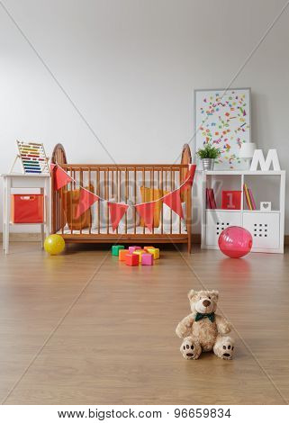 Spacious Child Room Interior