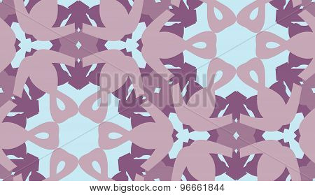 Purple And Blue Hexagonal Pattern