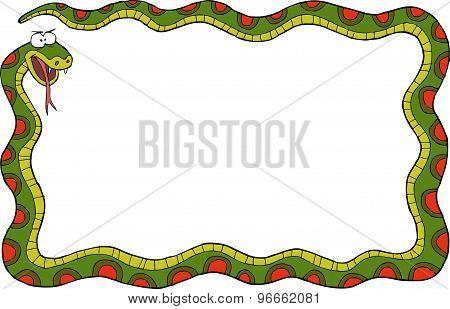 Frame With Snake