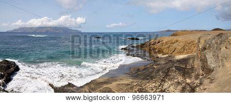 Beach In Djeu Facing Brava