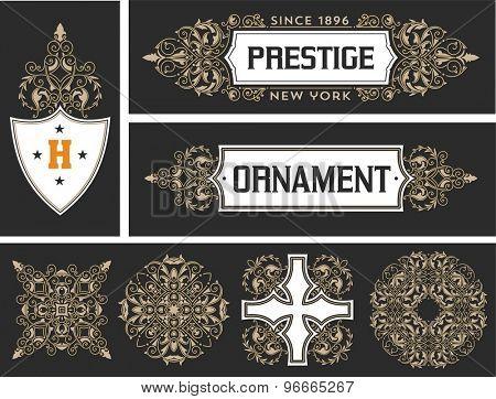 Retro designs and elements