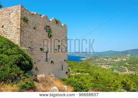 Kastelos. Rhodes, Greece