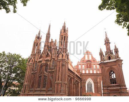 St. Ann and St. Bernardin churches