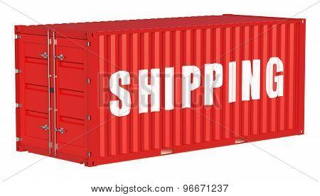 Shipping Cargo Container Concept