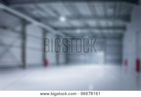 Modern Storehouse, Background For Industry