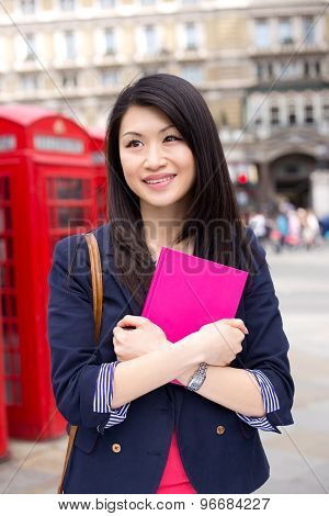 chinese student in London