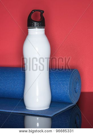 Fitness Water And Mat