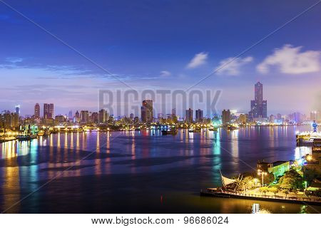 the city of Kaohsiung - Taiwan asia