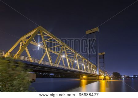 Blue Yellow Bridge