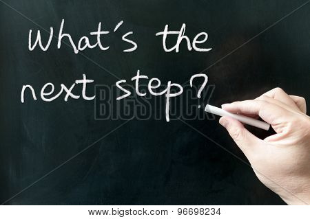 What's The Next Step