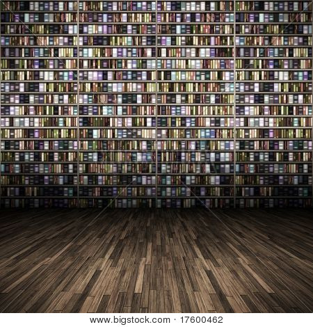 An image of a nice library background