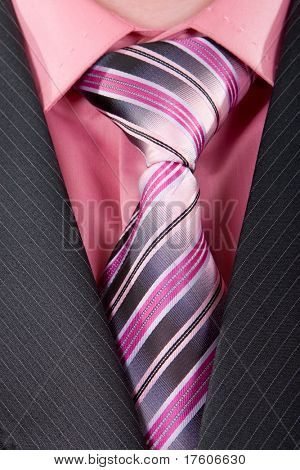 Close up  businessman tie