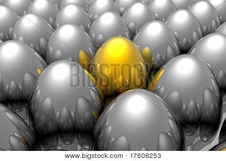Único huevo de oro