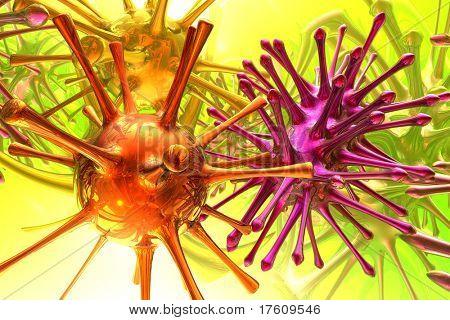 3D Mikrobe