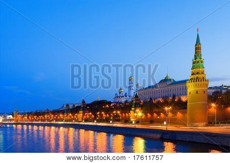 Night city, Moscow
