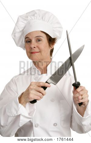 Competent Chef With Knife