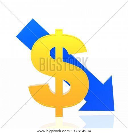 Dollar fall
