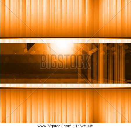 Hitech Abstract Business Background with Abstract Glowing motive