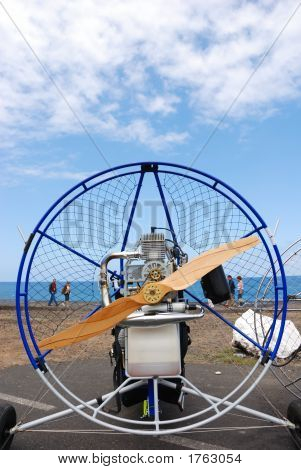Paraglider Engine