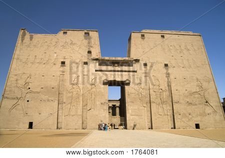 Temple Of Horus Edfu Egypt