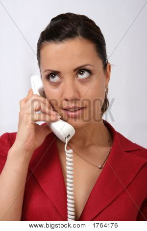 Businesswoman With A  Phone