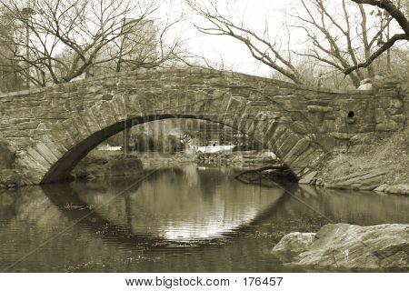 Central Park Stone Bridge