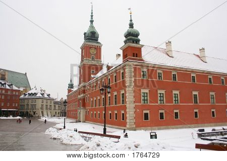 Royal Castle In The Warsaw